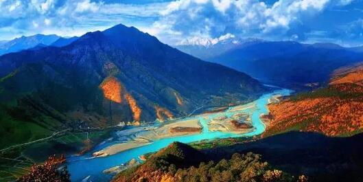 凉山州宁南县白鹤滩—金沙江大峡谷旅游开发项目